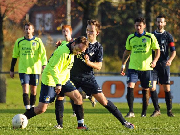 SV Bilshausen (blau) vs Germ. Breitenberg (2:1)