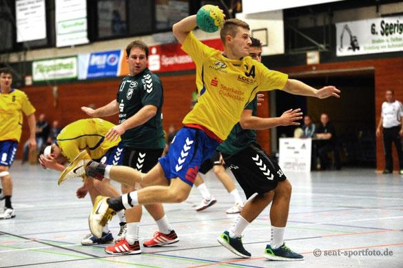 TV Jahn Duderstadt (gelb) vs TV Eiche Dingelbe
