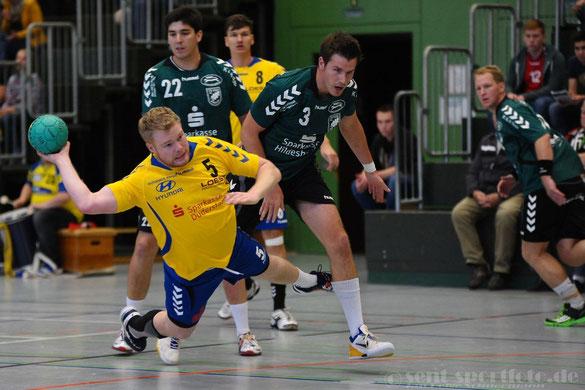 Handball Oberliga: TV Jahn Duderstadt (gelb)