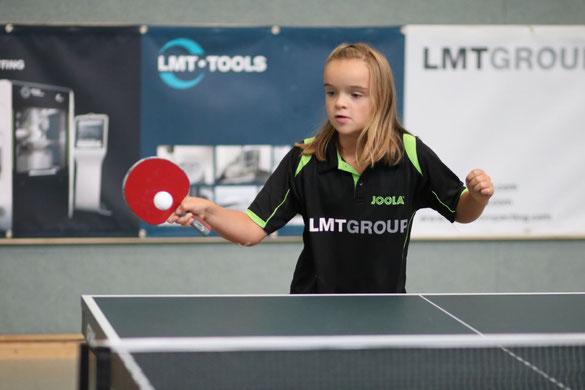 """Feierte mit dem """"silbernen Double"""" bei den Landesmeisterschaften der Schülerinnen C ihren bislang größten Erfolg: Carolin Stindt vom TSV Schwarzenbek."""