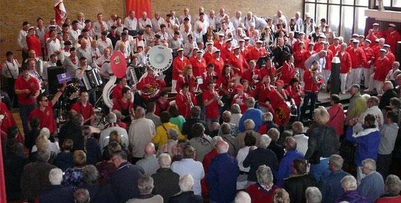 Von temperamentvoll bis besinnlich Shantychor Geeste feiert Erfolge bei Auftritten in den Niederlanden