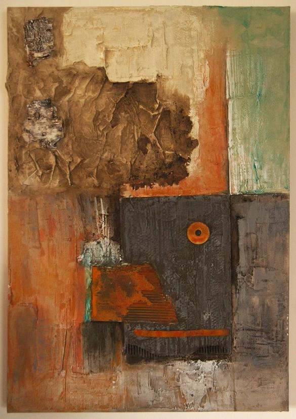 Recycling ,  Bild , Gemälde , Kunst , Acryl , Leinwand , arthaus kempen , Kunst , Künstler , Silvia Heimbucher