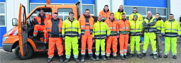 Um 13 Männer ist das Personal des Technischen Betriebsamtes im operativen Bereich aufgestockt worden. Jetzt sind 83 Mitarbeiter im Einsatz für den Bauhof. Foto: D. Kinkel-Schlachter