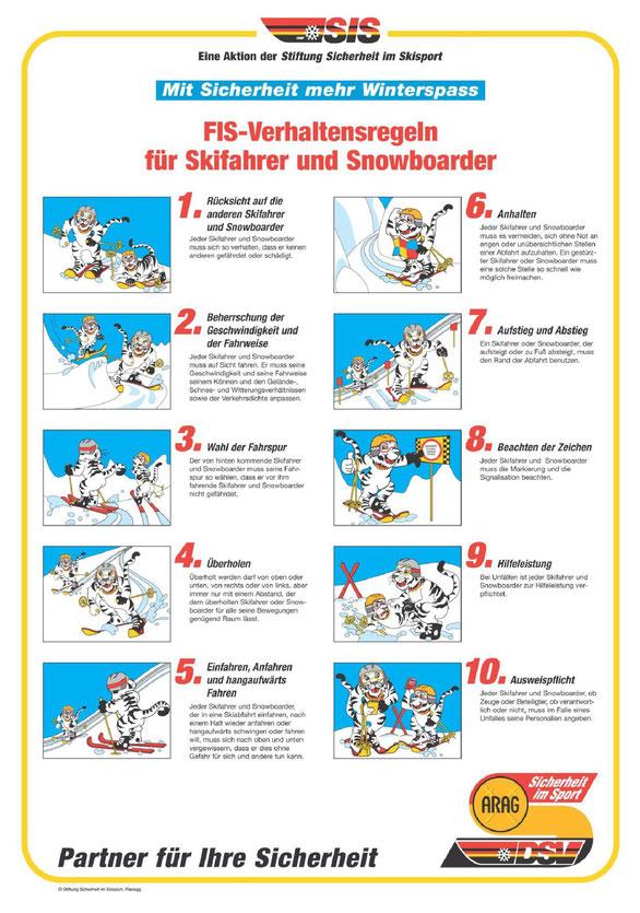 Copyright: Illustrationen Stiftung Sicherheit im Skisport / Infos unter www.ski-online.de
