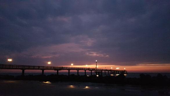 Fischland Wustrow Ostsee Mecklenburg Mecklenburg-Vorpommern Darß Krimi Corinna Kastner Weihnachten Kurzgeschichte Seebrücke