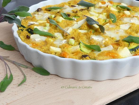 Gemüse-Polenta