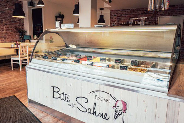 Eiscafe Bitte mit Sahne Sasel Hamburg
