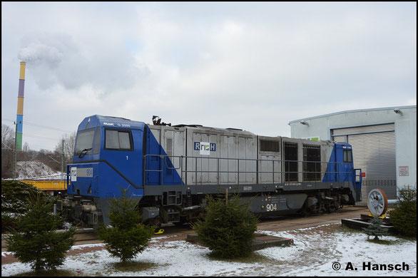 Die Lok soll im Chemnitzer Stillstandsmanagement abgestellt werden