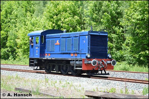 Aus Arnstadt war am 28. Mai 2017 die als 236 103-8 nummerierte V36 in Schwarzenberg zum Bw-Fest zu Gast. Bei der Lokparade entstand dieses Bild