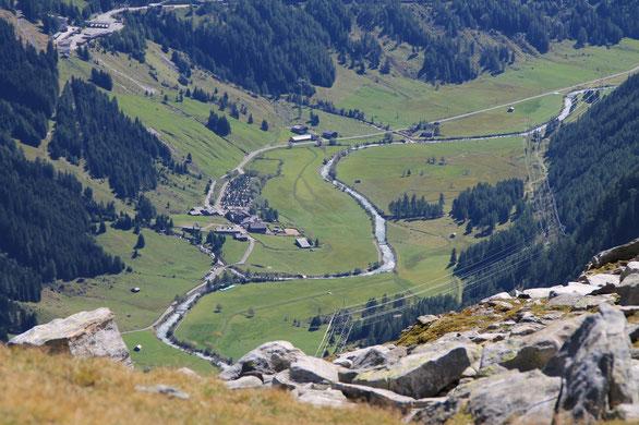 Bild vom Westweg zum Tauernhaus