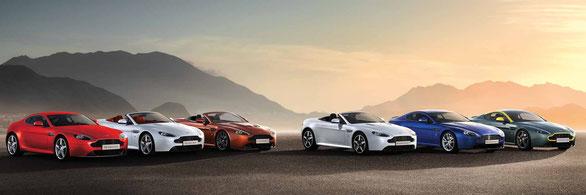 Aston Martin Vantage Family Range