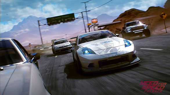 Need for Speed: Payback - Rennfahrt