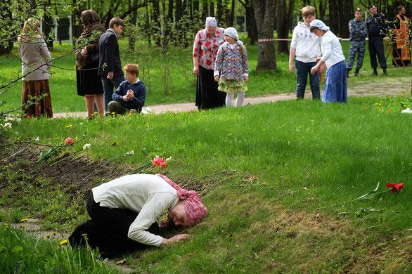 Ehemaliger Militär-Übungsplatz in Butowo (Gebiet Moskau). Allein im Jahr 1937 sind hier 20762 Menschen hingerichtet worden, darunter auch Kinder.