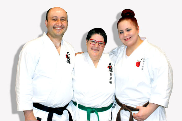 Vorstandsmitglieder: Rubin Dimoski, Sabine Wenerth, Tanja Polak