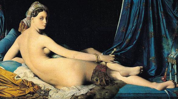 Знаменитые шедевры Лувра - Большая одалиска