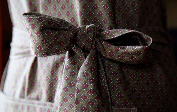 Tabliers Haute Couture : Tablier atelier emma couture situé à megève en haute
