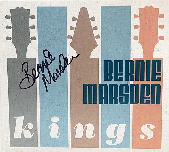 AUtograph Bernie Marsden Autogramm