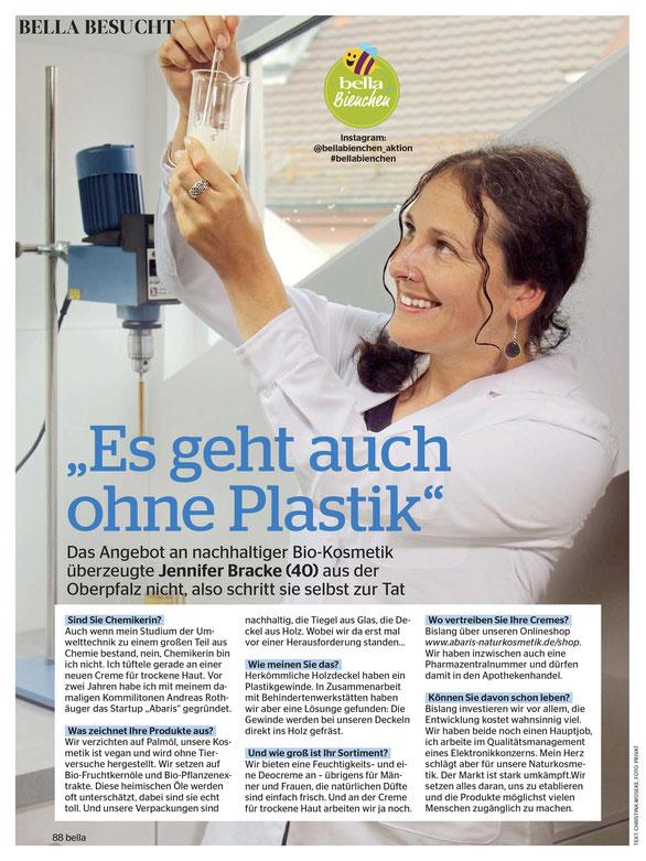 ABARIS Naturkosmetik - Es geht auch ohne Plastik - im BELLA Magazin