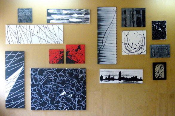 """une partie de mon installation lors du """"Chemin des Ateliers"""" 2011 - POITIERS (86)"""