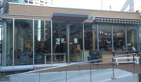 カフェレストラン「品川Ours」の店舗外観
