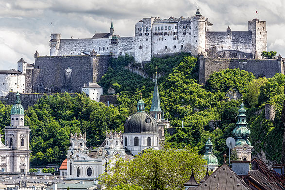 Salzburg Fortress (c) www.strobgalerie.at