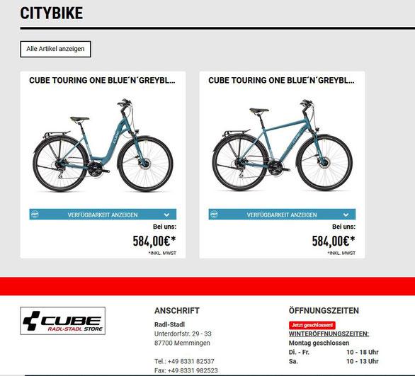 Online sein Fahrrad bestellen, ist mit BikeInfo nun noch einfacher