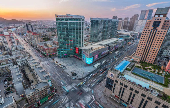 中国大連 遼寧師範大学へのアクセス方法 地下西安路駅乗り換え