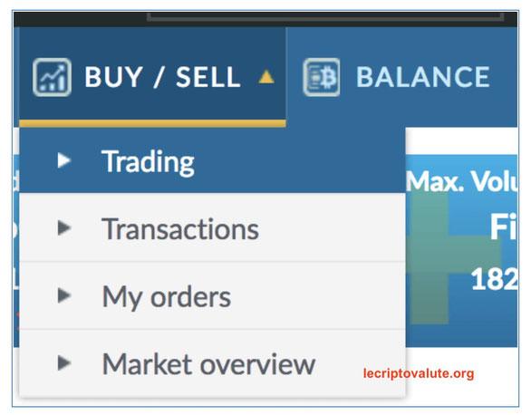 comprare e vendere token otn