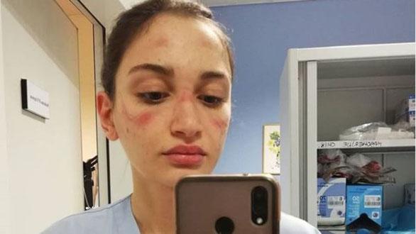 Italian nurse Alessia Bonari. Pic: Instagram