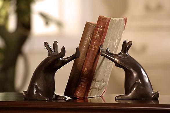 держатель для книг Зайчики