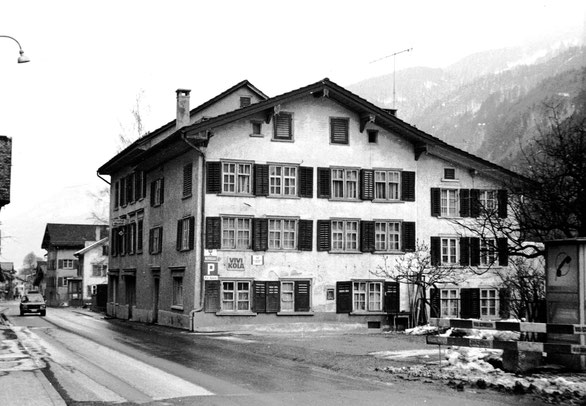 Waage vor 1974 Foto: Jakob Kubli