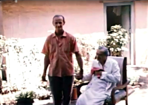 India : William with Meher Baba