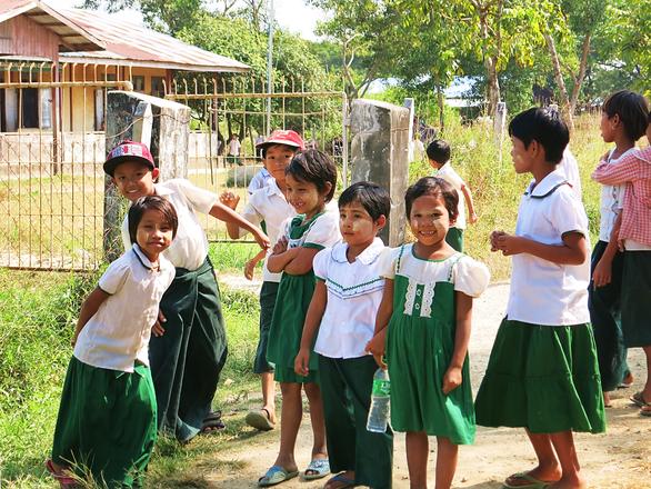 Grundschule in Ngwe-Saung
