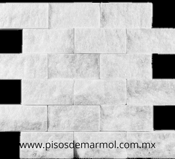 marmol blanco mosaico; mosaico marmol blanco; split face; mosaicos de marmol; marmol blanco mosaico;