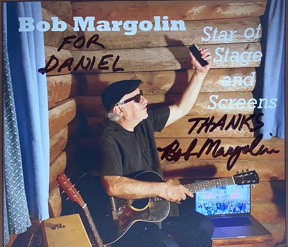 Atuograph Bob Margolin Autogramm
