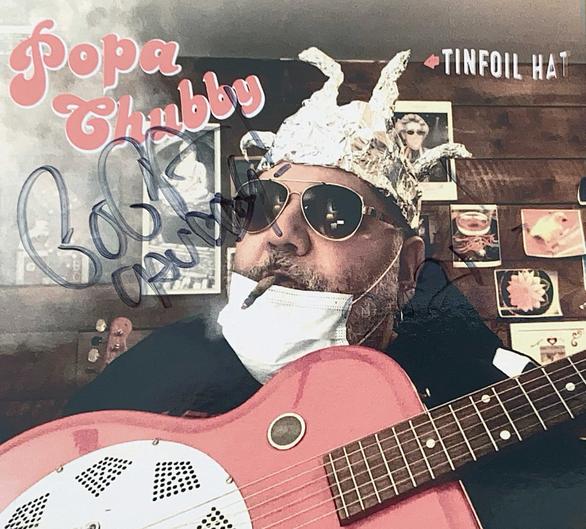 Autograph Popa Chubby Autogramm