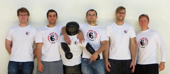 Florian, Christian, Mr.X, Max, Sebastian und Kim