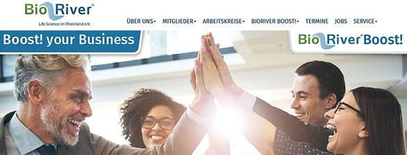 Screenshot Website BioRiver Sep2021