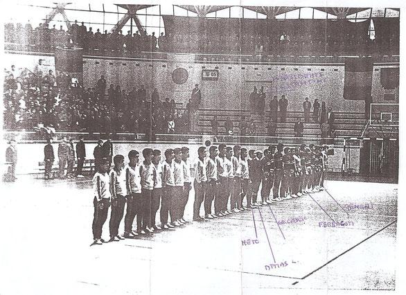 Francesco Neto è stato anche arbitro di Pallamano