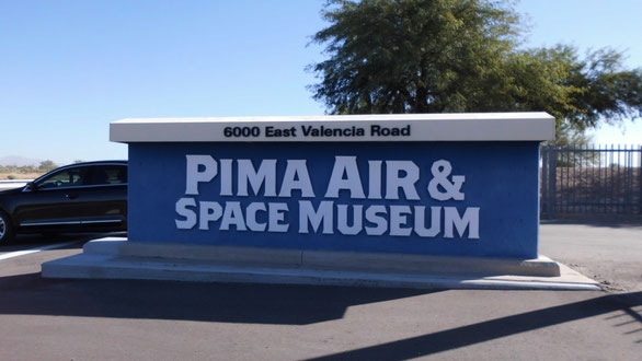 Bild: Pima Air & Space Museum Tucson Arizona