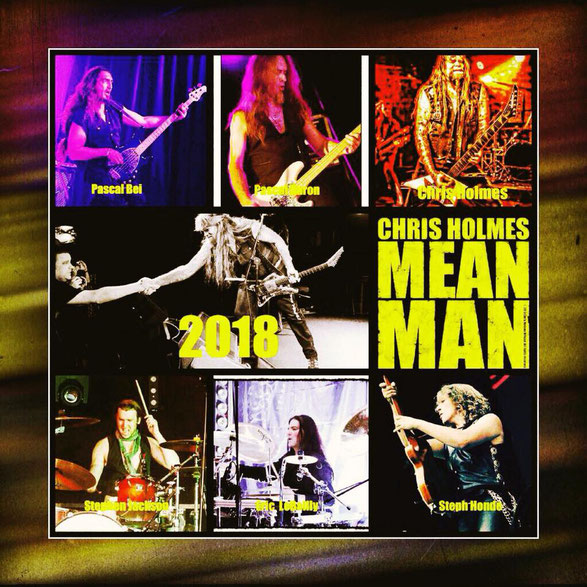 Chris Holmes, Mean Man