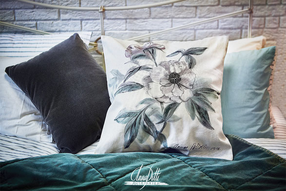 #pittiart, #pitextile, @anna_pittiart, #hand painted cushions, #artpillowcases