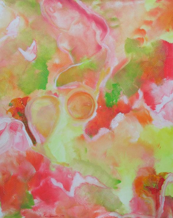 Visionelle Kunst - Britta Sembowski - SUMMER FEELINGS - Spirituelle Kunst - Acrylmalerei