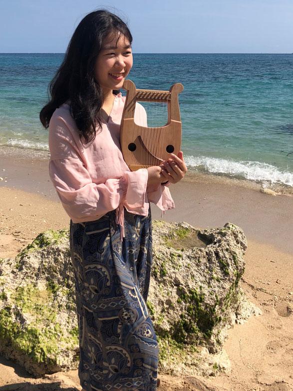 竪琴 ライアー てるる詩の木工房 音楽療法 幼児教育 癒し ペンタトニック あやはべる 9弦 32弦 39弦 leier lyre