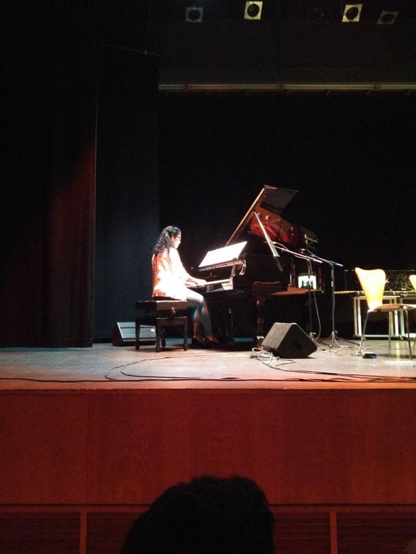 La pianista y compositora Cristina Gallego Fernández.