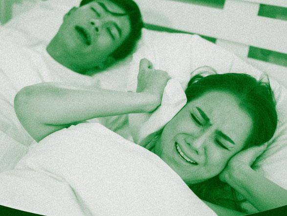 Schlafen trotz Lärm