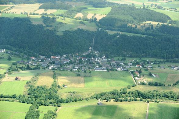 Luftbild Braunshausen 2013 (Von Michael Kramer - Eigenes Werk, CC BY-SA 3.0; wikipedia.org)