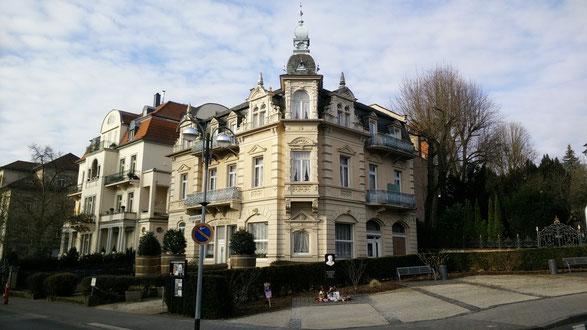 Hotel Grunewald, 28.03.2015, Digitale Sammlung Museum Bad Nauheim, Foto: Beatrix van Ooyen