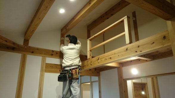 照明計画で木の家の良さが決まります。