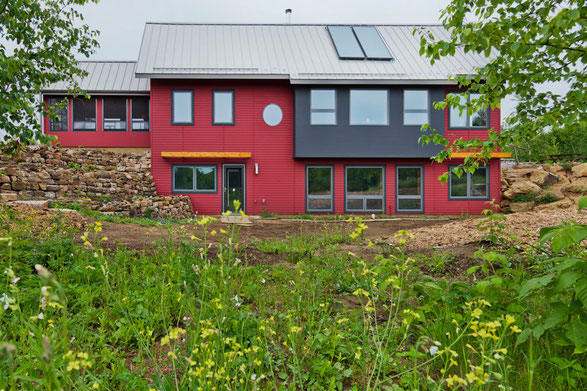 Wisconsin house passive net zero energy home ecodeep for Zero net energy home